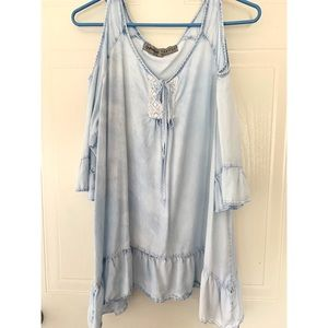 "Light ""Jean-Blue"" Blouse"